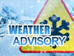 WEATHER ADVISORY!!  Parts of Ohio are in the path of a winter storm system this …